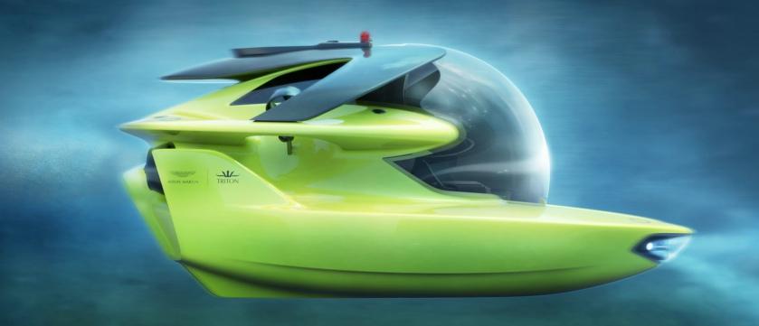 土豪们新玩具 专为超级游艇设计的个人潜艇