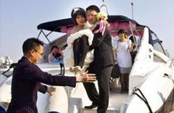 游艇婚庆活动