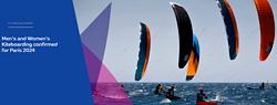 2024巴黎奥运会 看大佬在海里玩儿风筝!